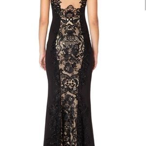 Forever Unique Dresses - Forever Unique London Black Lace Gown